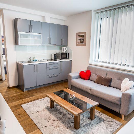 Ferienwohnung Wien - waehringer guertel 4 top 17 apartments vienna flarent 7